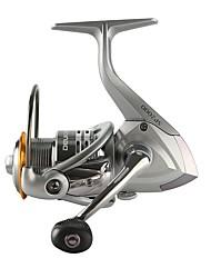 cheap -Fishing Reel Spinning Reel 5.0:1 Gear Ratio+11 Ball Bearings Hand Orientation Exchangable Sea Fishing / Spinning / Jigging Fishing -