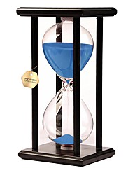 cheap -Hourglass Toys Toys Rectangular Hourglass Wood Glass Unisex Pieces