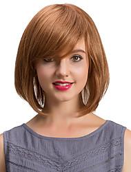 Parrucche semplici dei capelli del bobo squisito delle frange oblique dei capelli umani