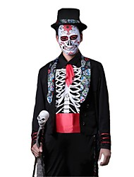 Ghost Vampire Cosplay Cosplay Costumes Masquerade Male Adults' Halloween Carnival Festival/Holiday Halloween Costumes Others Vintage