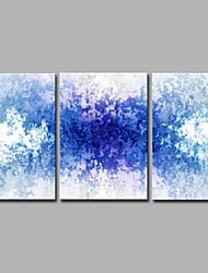 abordables -h2o type-h 3 paneles decoración de la pared pinturas al óleo pintadas a mano en la lona ilustraciones modernas arte de la pared 20x28 pulgadas3