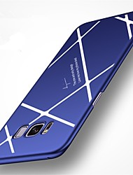 cheap -Case For Samsung Galaxy S8 Plus S8 Case Cover Frosted Back Cover Case Lines / Waves Hard PC