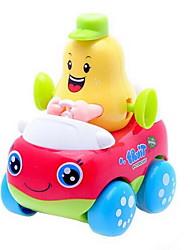 Недорогие -Игрушка с заводом Автомобиль Пластик Куски Детские Универсальные Игрушки Подарок