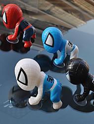 Недорогие -новый 3d человек-паук стиль автомобильные украшения пластиковый автомобиль подвеска