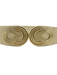 cheap -Women's Dress Belt Alloy Buckle - Solid Colored, Fashion