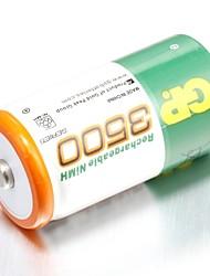 Bateria recarregável gp nimh 3500mah 1.2v