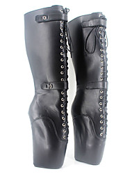 cheap -Women's Boots Novelty Fashion Boots Knee High Boots PU Fall Winter Party & Evening Platform 5in & over
