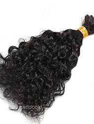 1 Piece 100% Human Bulk Hair Loose Curly High Quality Hair Bulk No Weave Natural Color Hair 100g/Pcs