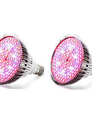 cheap -E27 LED Grow Lights 120 SMD 5730 4000-5000 lm Warm White Red Blue UV (Blacklight) K AC85-265 V