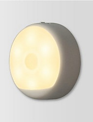 cheap -Xiaomi 1 pc LED Night Light Warm White USB Battery Infrared Sensor