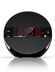 radio Radio portable Fonction réveille Lecteur MP3 Bluetooth Carte TF