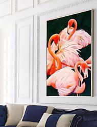 Animais Pinturas a Óleo Emolduradas Arte de Parede,Poliestireno Material com frame For Decoração para casa Arte Emoldurada Sala de Estar