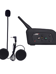 Motocicleta VNETPHONE V3.0 Fones Bluetooth Estilo pendurado da orelha Transmissores FM USB Port Player MP3