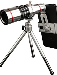 cheap -PICKOGEN 18x Manual Focus Telephoto Lens for iphone Huawei xiaomi samsung for iPhone 8 7 Samsung Galaxy S8 S7