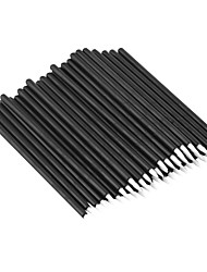 cheap -50Pcs Disposable Eyeliner Eye Liner Liquid Wand Applicator Brush Cosmetic Make Up Brushes Tool