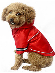 economico -Cane Felpe con cappuccio Abbigliamento per cani Caldo Traspirante Casual Sportivo Solidi Caffè Rosso Blu Costume Per animali domestici