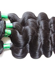 cheap -wholesale 10a indian virgin hair body wave 1kg 10bundles lot natural indian remy human hair weaves natural black color good quality no shedding