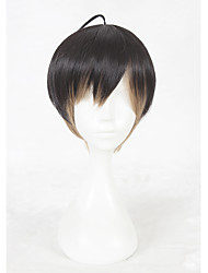 cheap -14inch Short Color Mixed A3 Masumi Usu Wig Synthetic Party Hair Wig Anime Cosplay Wigs CS-336I