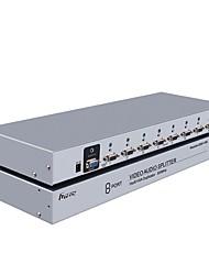 DTECH VGA Splitter VGA to VGA Splitter Female - Female One Input Eight Output