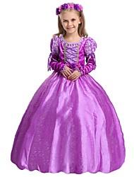 Girl's Princess Sofia DressA Long Sleeved Gauze Dress