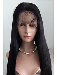 Best Selling Peruvian Hair  Silky Straight  Lace Front Wig Human Hair  Lace Front Wig For Woman