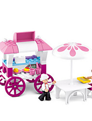 cheap -Building Blocks / Block Minifigures / Pretend Play Castle / House Animals Girls' Gift