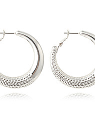 Women's Hoop Earrings Basic Fashion Bohemian Personalized Cute Style Handmade Luxury Simple Style Classic Elegant Alloy Geometric Jewelry