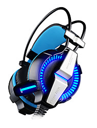economico -KOTION EACH G7000 Fascia per capelli Con filo Auricolari e cuffie Dinamico Da gioco AuricolareDotato di microfono Con il controllo del