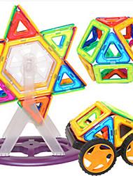 Blocos de Construir Blocos magnéticos Conjuntos de construção magnética Carros de brinquedo Brinquedos Redonda Peças Crianças Rapazes Dom