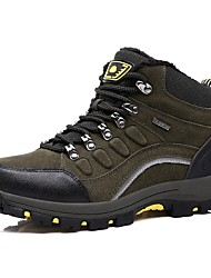 Men's Athletic Shoes Fluff Lining Comfort Snow Boots Bootie Fall Winter Synthetic Microfiber PU Hiking Shoes Athletic Casual Outdoor