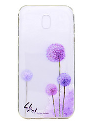 Case For Samsung Galaxy J7 2017 J5 2017 Case Cover Dandelion Pattern TPU High Purity Translucent Soft Phone Case For J3 2017 J710 J510 J310