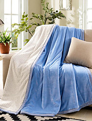 cheap -Flannel Solid Other Blankets