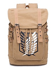 cheap -Bag Inspired by Attack on Titan Bertolt Huber Anime Cosplay Accessories Canvas