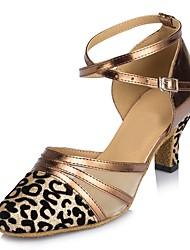 cheap -Women's Modern Sparkling Glitter Sandal Indoor Customized Heel Black Silver Bronze Gray Red