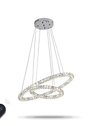 cheap -LED Modern Crystal Chandeliers Indoor Pendant Light Ceiling Lamp Lighting Fixtures Dimmable  with Remote Control