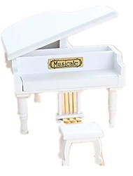 Boîte à musique Jouets Piano Bois Pièces Unisexe Anniversaire Cadeau