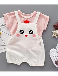 bébé Coton Dessin-Animé Ensemble de Vêtements Eté