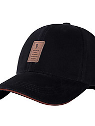 Men's Cotton Baseball Cap,Hat Solid Spring/Fall