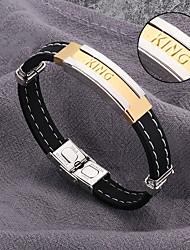 cheap -Hot summer silicone bracelet titanium bracelet jewelry and fashion personality