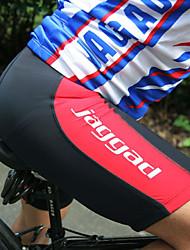 Jaggad Cycling Padded Shorts Men's Bike Padded Shorts/Chamois Bottoms Bike Wear Cycling Solid Mountain Cycling Road Cycling Recreational