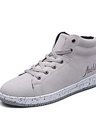 Da uomo Scarpe Cashmere Primavera Autunno Comoda Sneakers Per Casual Nero Grigio Black / Blue