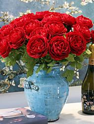 1 branche français tissu de soie rosée lotus décoration de la maison fleurs artificielles