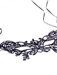 Недорогие -Маски на Хэллоуин Товары для вечеринки Игрушки Новинки Кружева Ужасы Куски Женские Хэллоуин Подарок