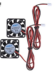 Anet 40x40x10mm DC 12V Brushless Cooling Cooler Fan 2 Wire for  3D Printer