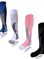 abordables -Adulte Chaussettes de Sport Basket-ball Football Course/Running Basket-ball / football / football / volley-ball / base-ball
