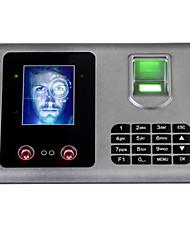 Недорогие -Посещающая машина Записать запрос отпечаток пальца / пароль / Лицо Офис / завод