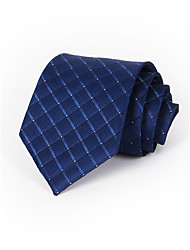 Men's Polyester Neck Tie,Neckwear Print All Seasons Red Navy Blue