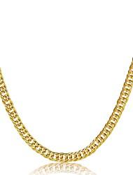Herrn Damen Halsketten Schmuck Geometrische Form vergoldet Natur Gothic Luxus-Schmuck Chrismas Klassisch Schmuck Für Party Verabredung