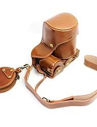 Недорогие -Dengpin pu кожаный чехол для камеры сумка для sony ilce-6500 a6500 16-70mm объектив (различные цвета)