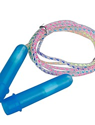 Jump Rope/Skipping Rope Exercise & Fitness Jumping Help to lose weight Durable Plastics PVC-